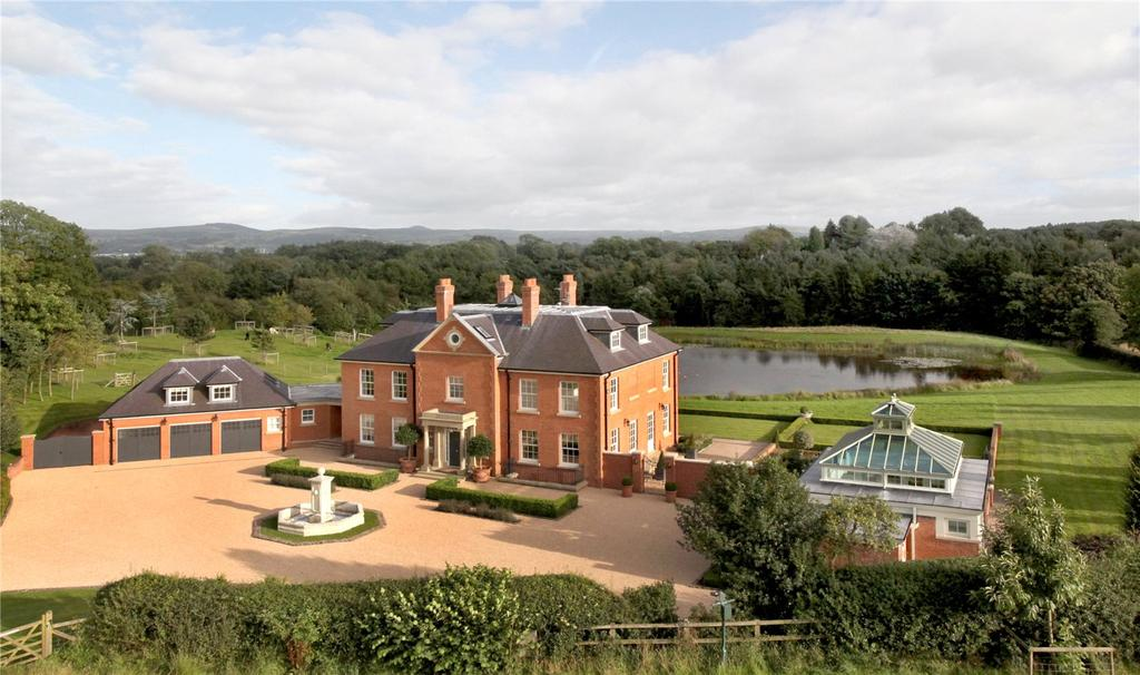 5 Bedrooms Equestrian Facility Character Property for sale in Withinlee Road, Prestbury, Macclesfield, Cheshire, SK10
