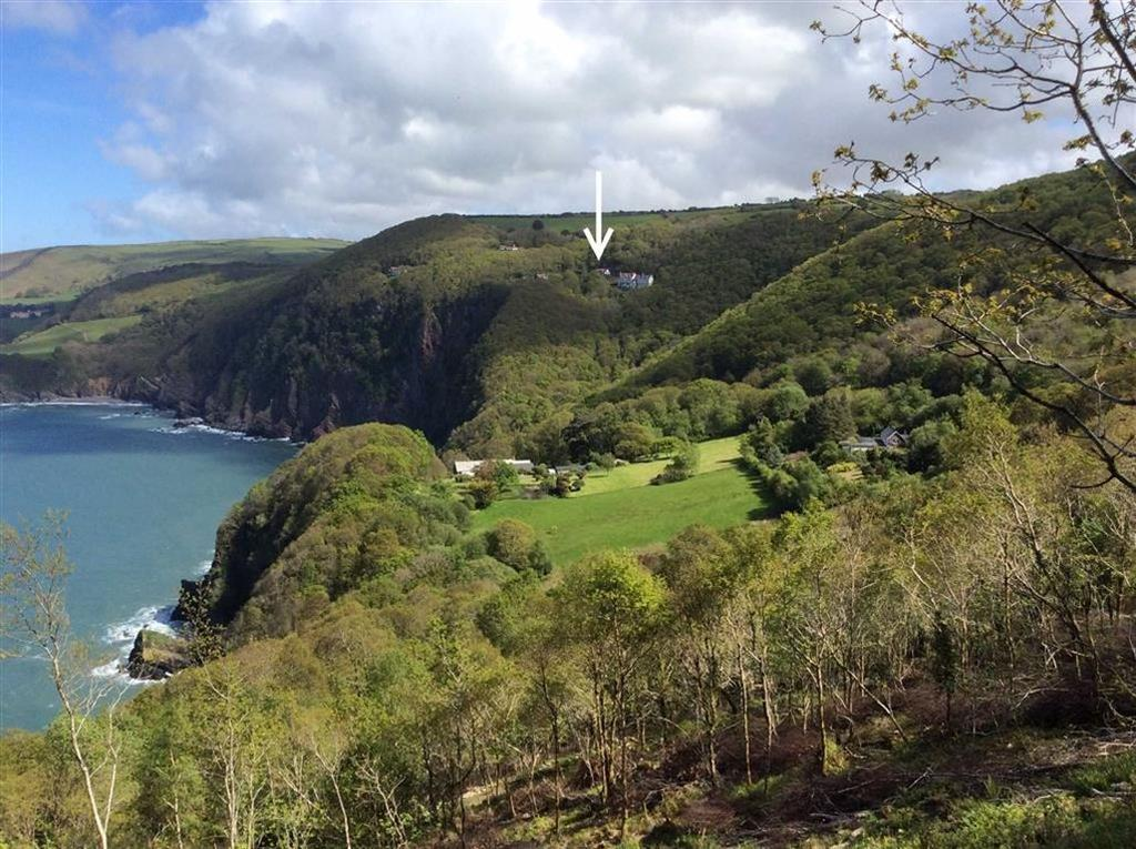 5 Bedrooms Detached House for sale in Woody Bay, Parracombe, Barnstaple, Devon, EX31
