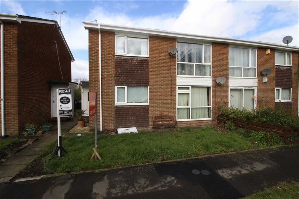 2 Bedrooms Flat for sale in Bosworth, Newcastle Upon Tyne