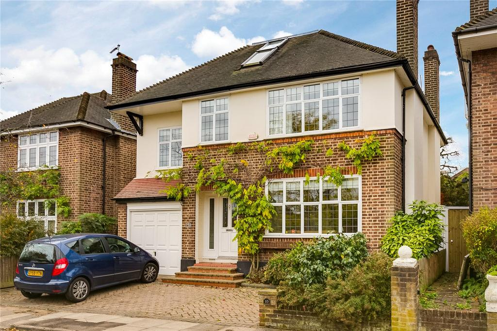 5 Bedrooms Detached House for sale in Vicarage Drive, East Sheen, London