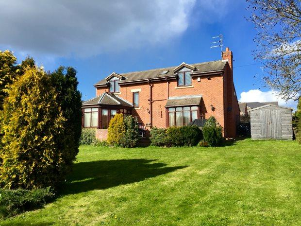 4 Bedrooms Detached House for sale in MEADOW VIEW, REAR GOATBECK TERRACE, LANGLEY MOOR, DURHAM CITY : VILLAGES WEST OF