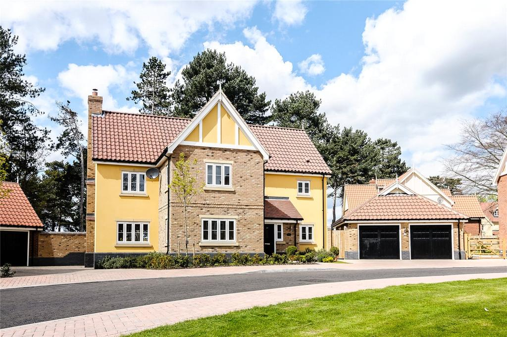 6 Bedrooms Detached House for sale in Beechwood Drive, Ipswich, Suffolk