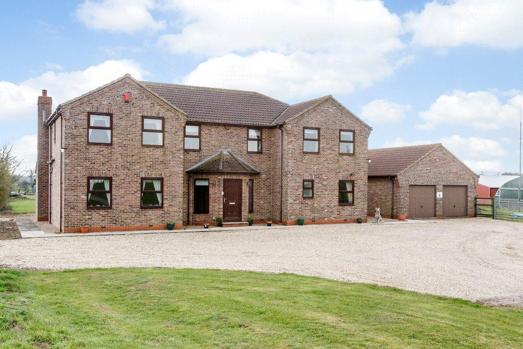 4 Bedrooms Detached House for sale in Low Hill Farm, Messingham, Scunthorpe, DN17