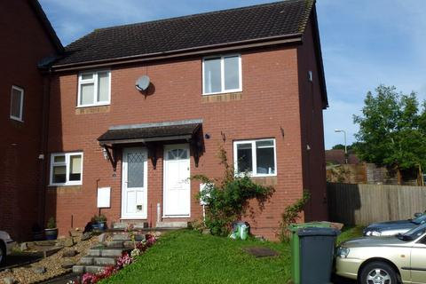 2 bedroom semi-detached house to rent - Foxglove Rise, Exeter