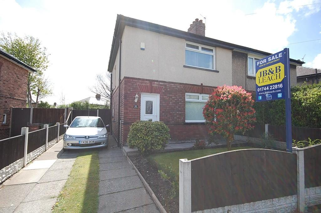 2 Bedrooms Semi Detached House for sale in Leslie Road, Thatto Heath, St. Helens