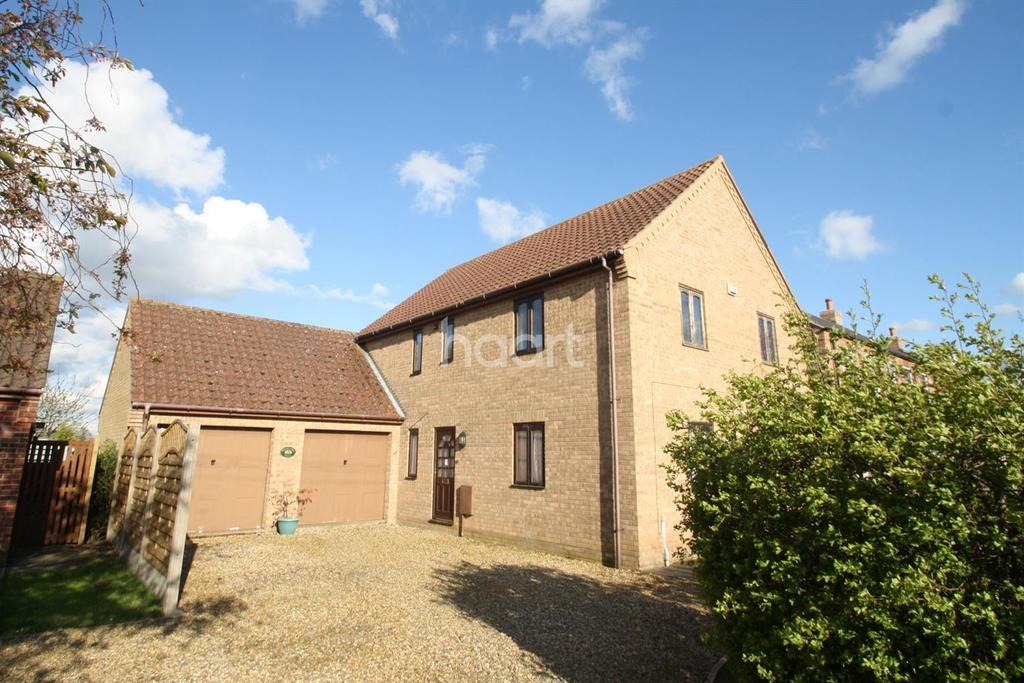 4 Bedrooms Detached House for sale in Main Street Welney