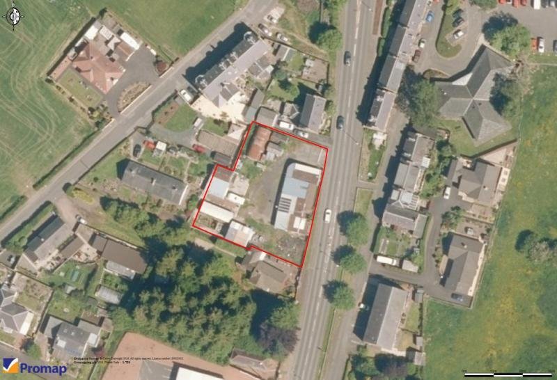 Plot Commercial for sale in Kossuth Ter, Melrose Road, Earlston, Berwickshire, Scottish Borders