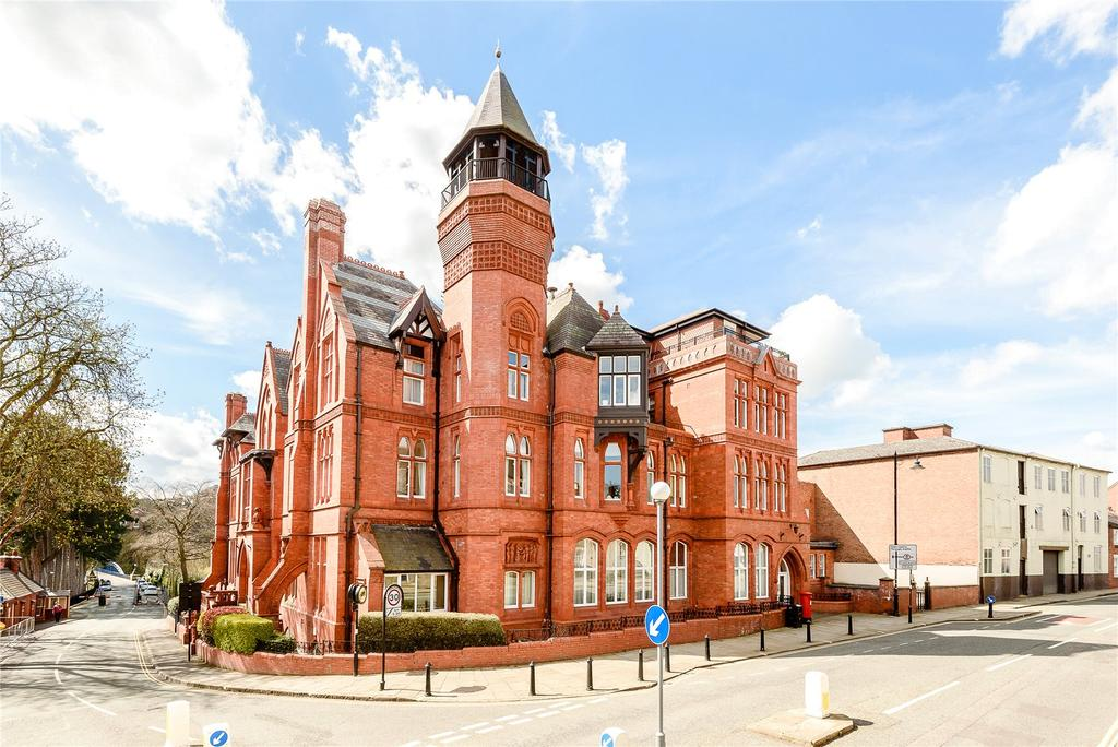 3 Bedrooms Flat for sale in Kingsland Bridge Mansions, Murivance, Shrewsbury, Shropshire