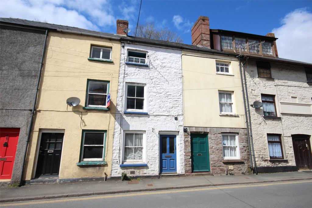 3 Bedrooms Terraced House for sale in The Struet, Brecon, Powys