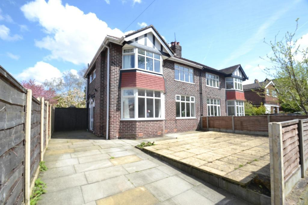3 Bedrooms Semi Detached House for sale in Irlam Road, Sale