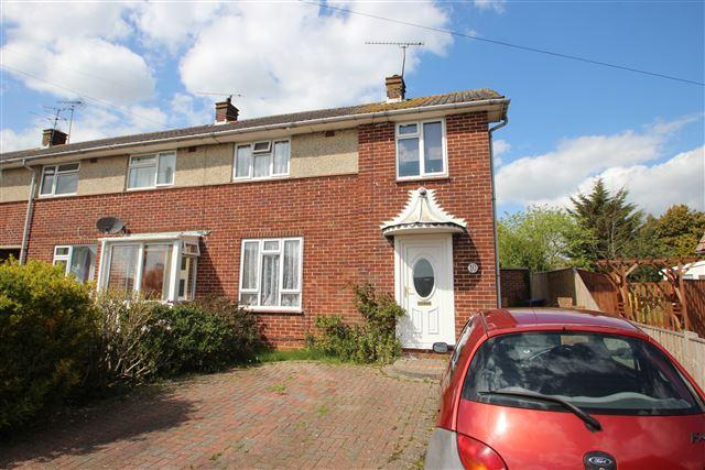 3 Bedrooms End Of Terrace House for sale in Bramble Crescent, Worthing, West Sussex, BN13 3JF