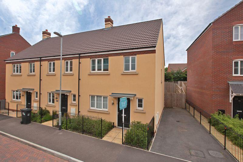 3 Bedrooms End Of Terrace House for rent in Grove Gate, Taunton