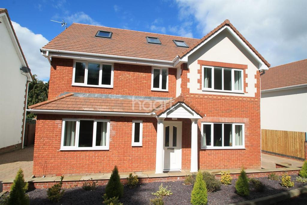 5 Bedrooms Detached House for sale in Old Langstone Court Road, Langstone, Newport