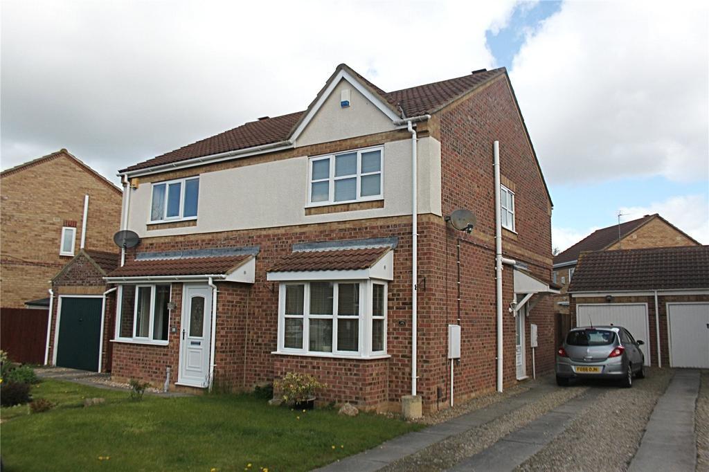 2 Bedrooms Semi Detached House for sale in Mastiles Close, Ingleby Barwick
