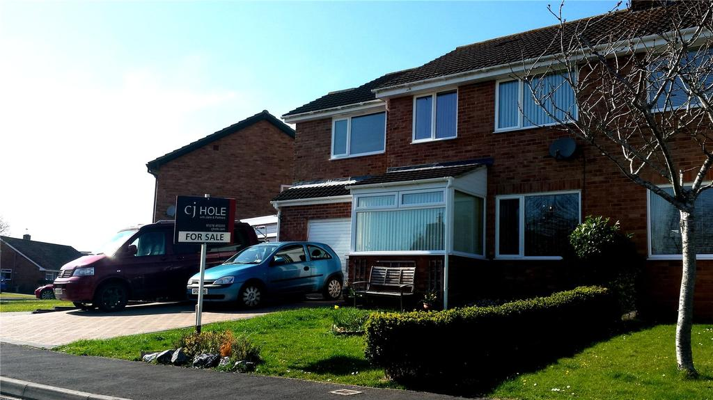 4 Bedrooms Semi Detached House for sale in Estuary Park, Combwich, Bridgwater, Somerset, TA5