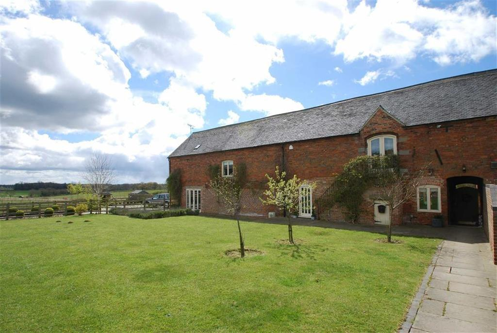 4 Bedrooms Barn Conversion Character Property for sale in Church Farm, Newchurch, Staffordshire
