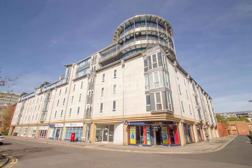 2 Bedrooms Flat for sale in The Plaza, Swindon, Wiltshire