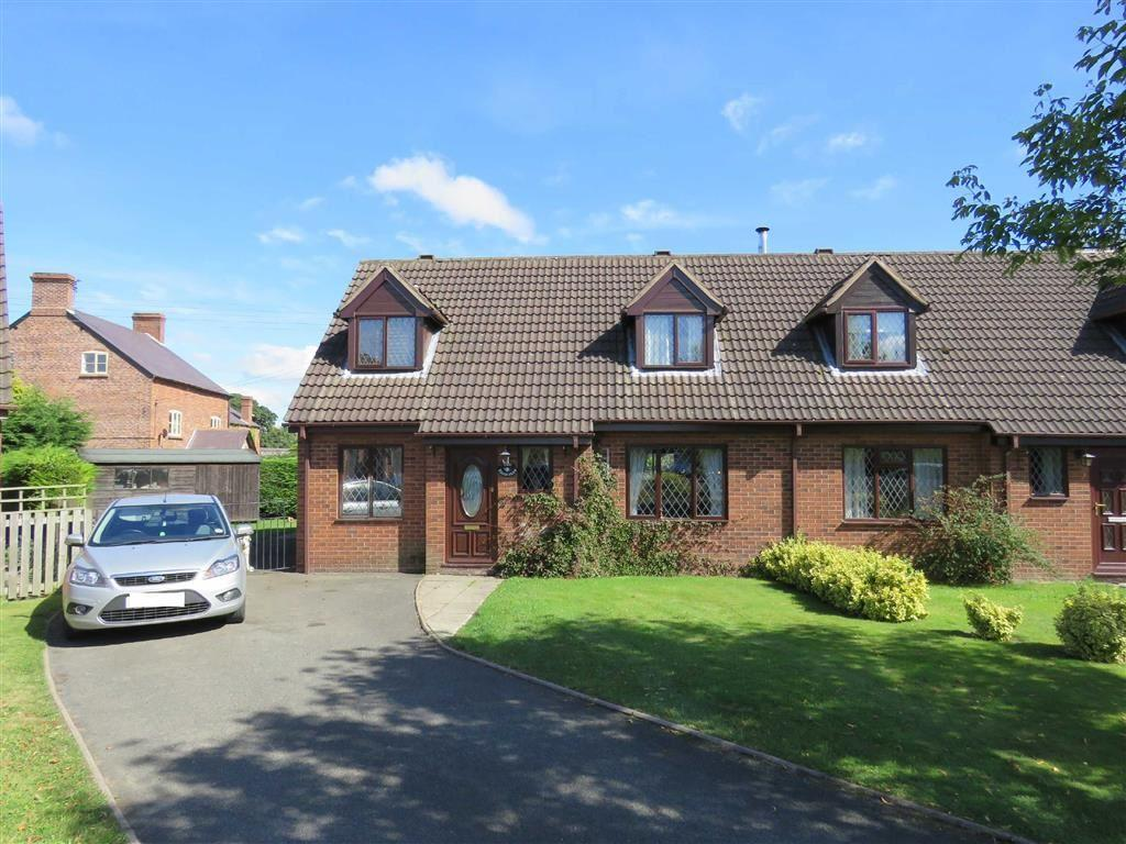 3 Bedrooms Semi Detached House for sale in The Briars, Cockshutt, SY12