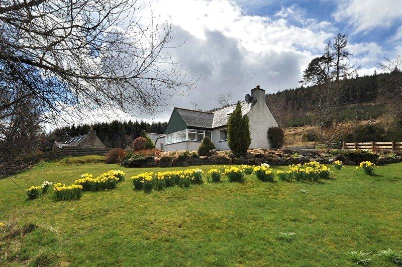 3 Bedrooms Detached House for sale in Drumnagrain, Ballindalloch, Moray, AB37