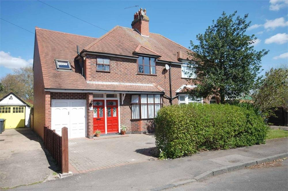4 Bedrooms Semi Detached House for sale in Rainsbrook Avenue, Hillmorton, RUGBY, Warwickshire