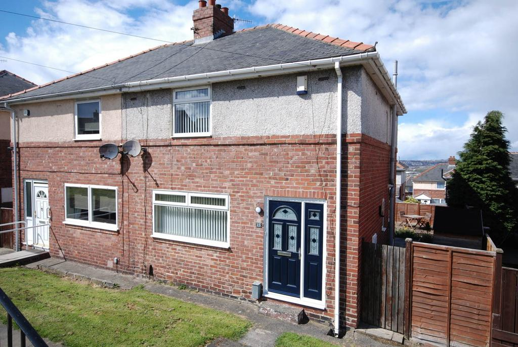 3 Bedrooms Semi Detached House for sale in North View, Whickham