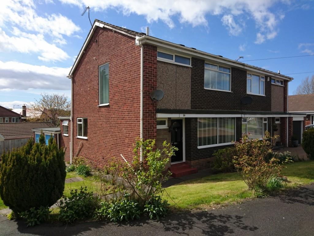 3 Bedrooms Semi Detached House for sale in Wilden Court, Elstob Farm, SR3