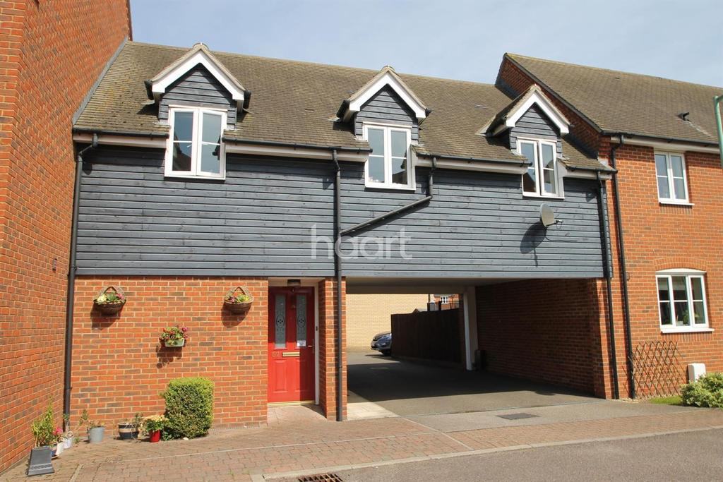 2 Bedrooms Maisonette Flat for sale in Turnstone Drive, Bury St Edmunds