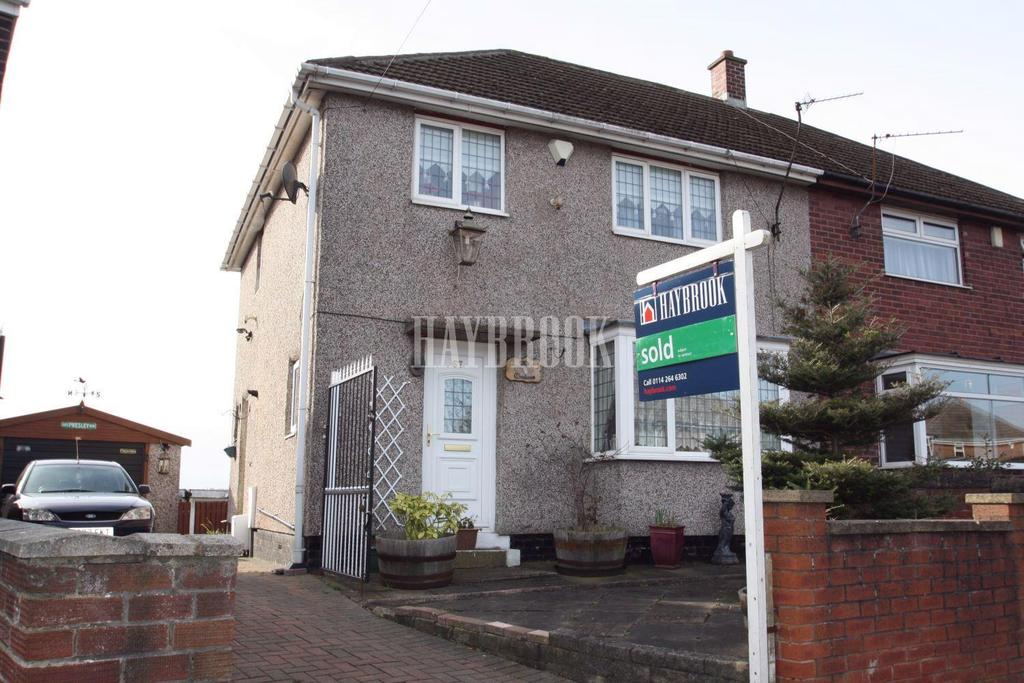 3 Bedrooms Semi Detached House for sale in Masefield Road, Richmond, S13
