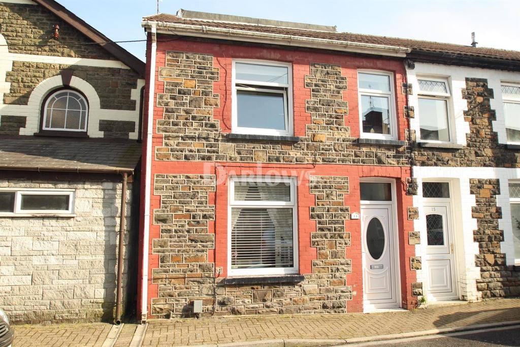 3 Bedrooms End Of Terrace House for sale in Vaughan Street Pwllgwaun