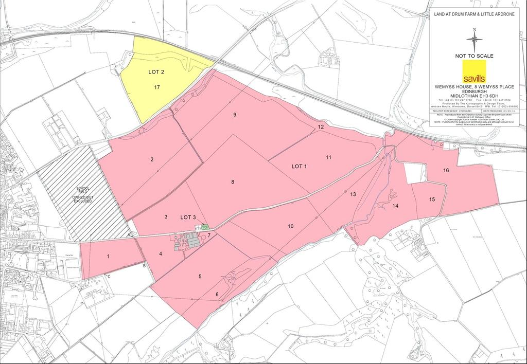 Land Commercial for sale in Land At North Drum (Lot 2), Keith, Banffshire, AB55