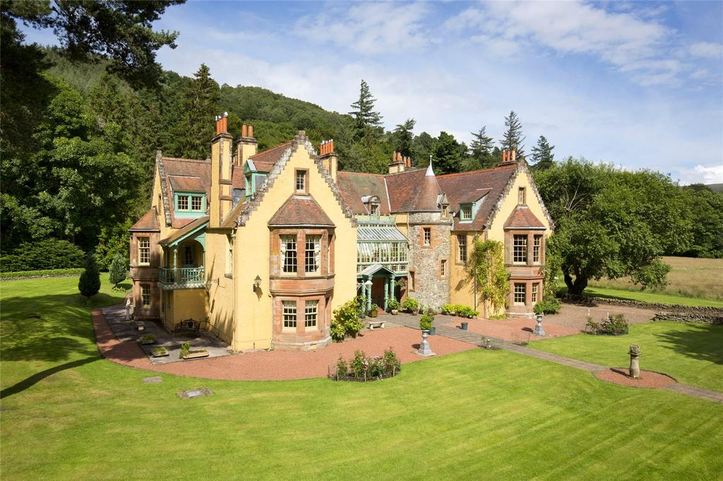 6 Bedrooms Unique Property for sale in Leithen Lodge, Innerleithen, Peeblesshire, EH44