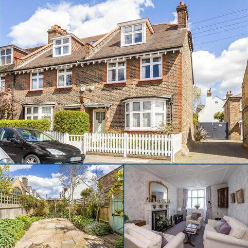 4 bedroom semi-detached house for sale - Thornton Road, Wimbledon, London, SW19