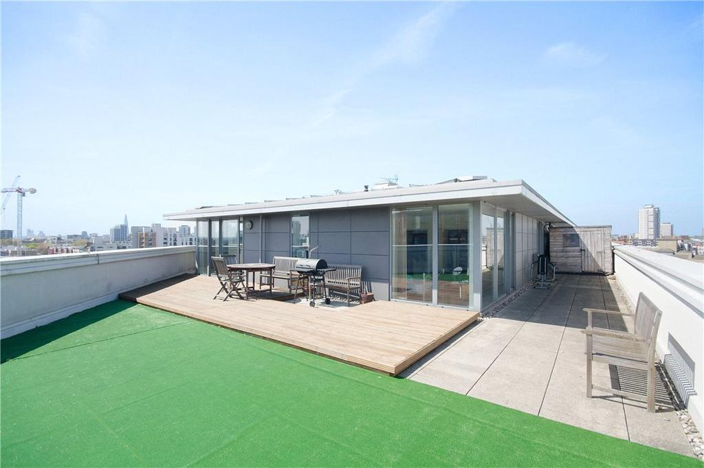 2 Bedrooms Penthouse Flat for sale in Vickery's Wharf, 87 Stainsby Road, Langdon Park, London, E14