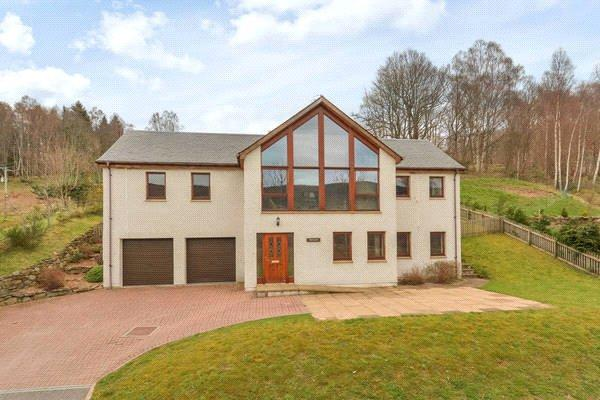 5 Bedrooms Detached House for sale in Tigh Geal, East Haugh, Pitlochry, Perthshire, PH16