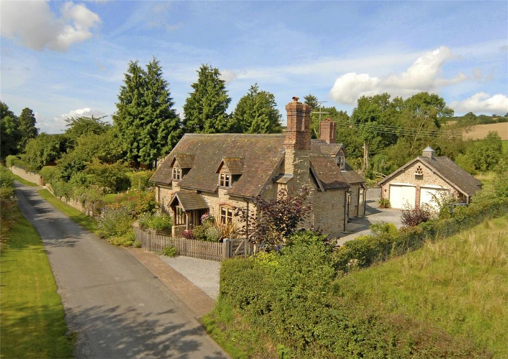 4 Bedrooms Country House Character Property for sale in The Brambles, Munslow Village, near Ludlow