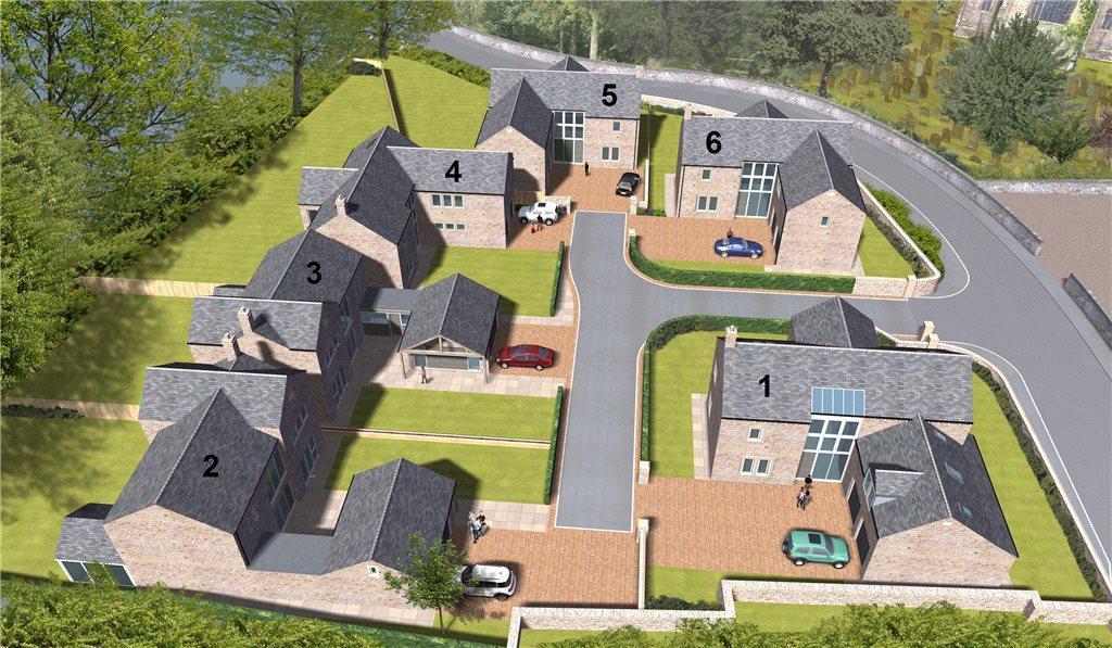 4 Bedrooms Detached House for sale in 1-6 Church Gardens, Back Lane, Drighlington