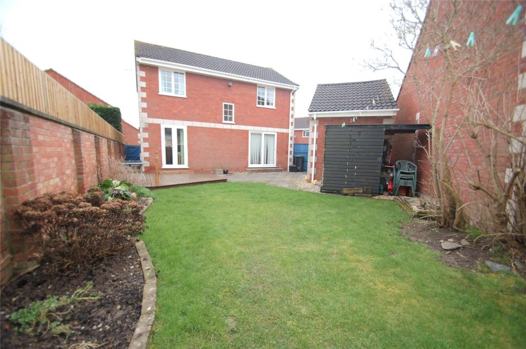 4 Bedrooms Detached House for sale in Apricot Tree Close, Bridgwater, Somerset, TA6