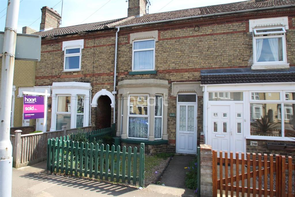 2 Bedrooms Terraced House for sale in Oundle Road, Peterborough