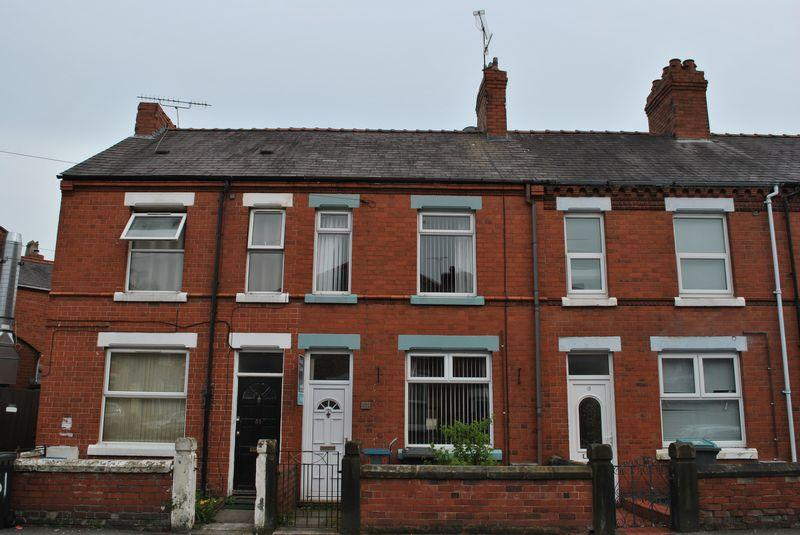 3 Bedrooms Terraced House for sale in Hampden Road, Wrexham