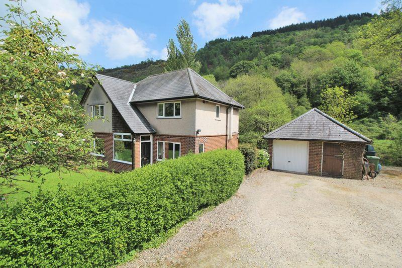 3 Bedrooms Detached House for sale in Llanarmon Road, Glyn Ceiriog, Nr Llangollen.