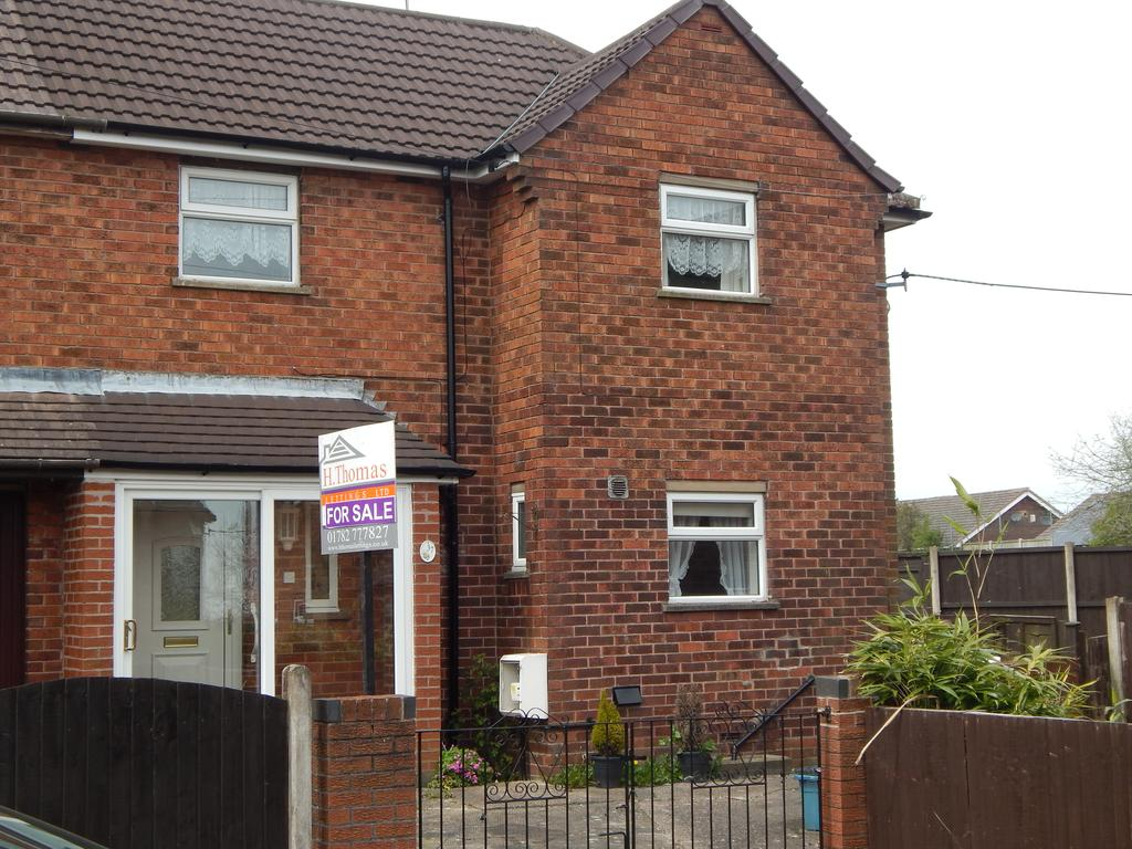 2 Bedrooms Semi Detached House for sale in Talke Pits, Stoke on Trent ST7