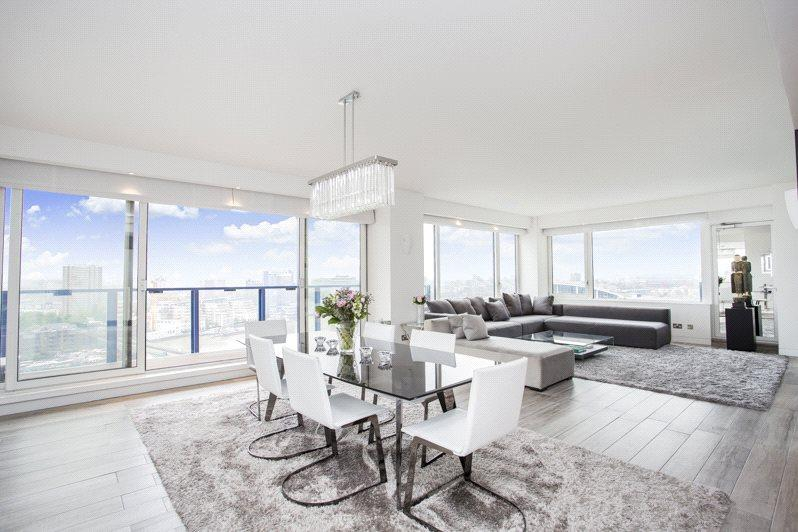 2 Bedrooms Flat for sale in The Belvedere, Chelsea Harbour, London, SW10