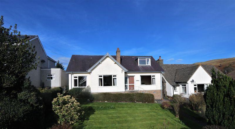 3 Bedrooms Detached Bungalow for sale in Maesafallen, Corwen