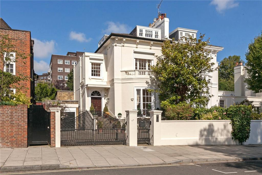 4 Bedrooms Semi Detached House for sale in Queens Grove, St John's Wood, London, NW8