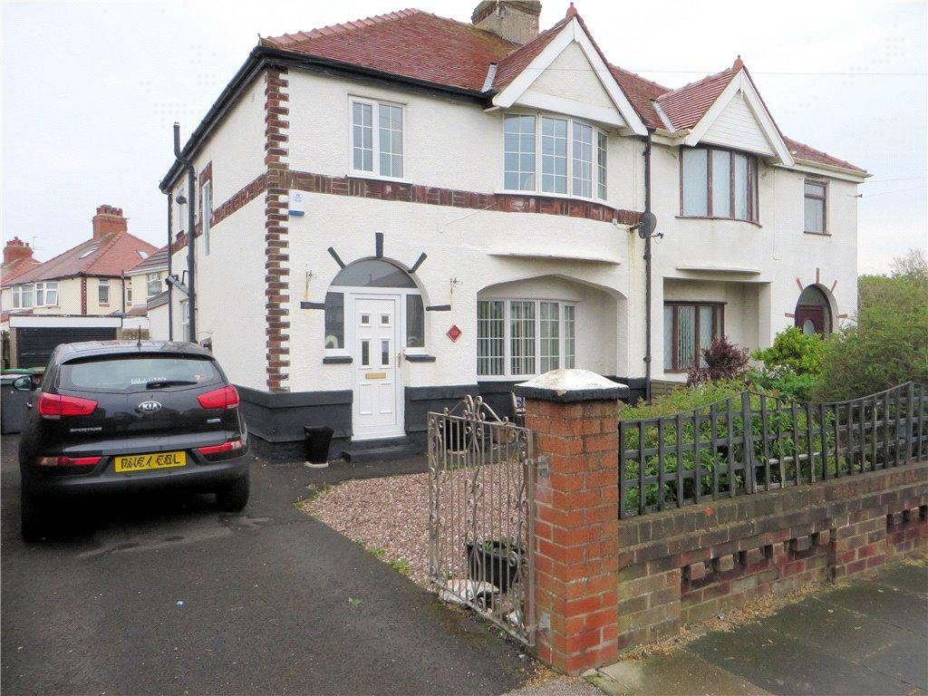 3 Bedrooms Semi Detached House for sale in Fleetwood Road, Anchorsholme, Thornton-Cleveleys