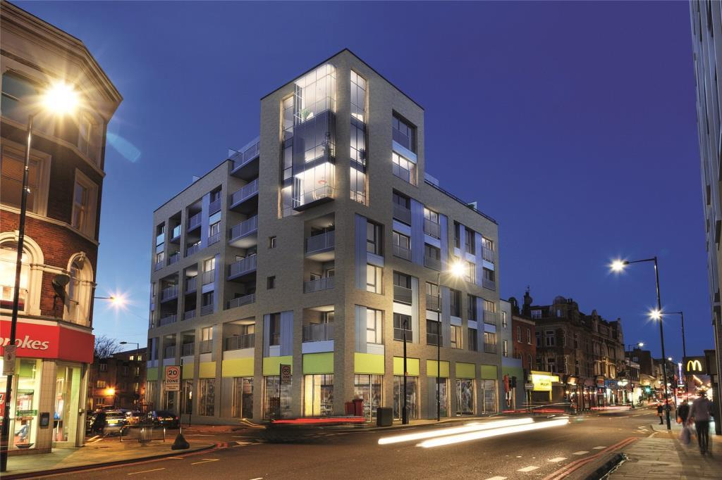 2 Bedrooms Flat for sale in Dalston Curve, Kingsland Road, Dalston, London, E8