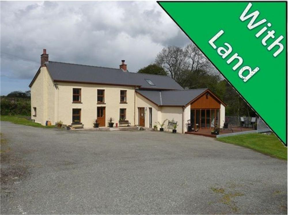 4 Bedrooms Farm House Character Property for sale in Glandwr Onest, Pantyderi, Blaenffos, Boncath, Pembrokeshire
