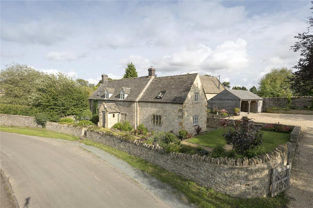 4 Bedrooms Detached House for sale in Hawling, Cheltenham, Gloucestershire, GL54