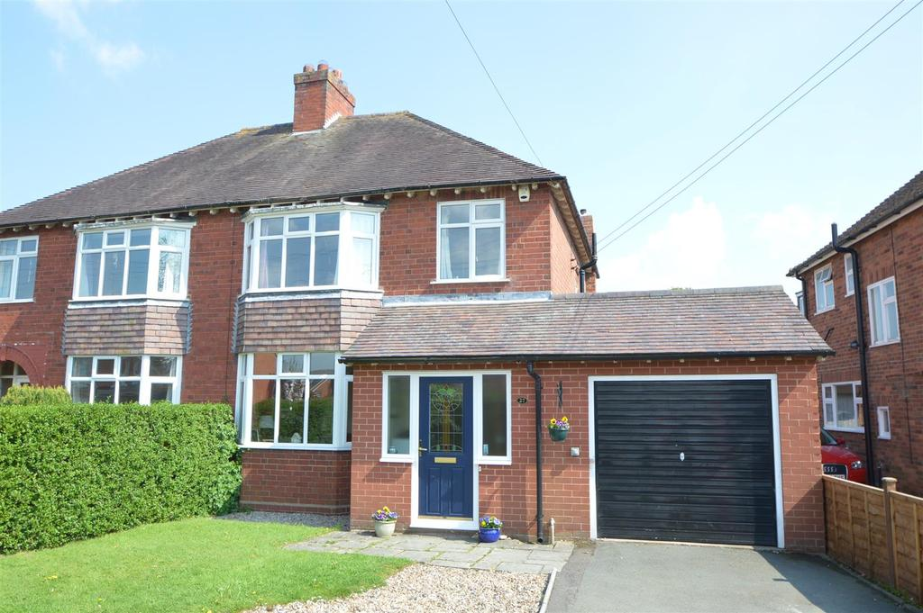 3 Bedrooms Semi Detached House for sale in 27 Lyth Hill Road, Bayston Hill, Shrewsbury, SY3 0EW