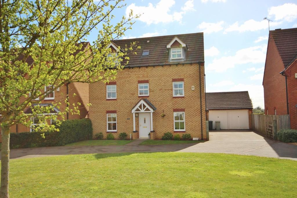 5 Bedrooms Detached House for sale in Hazel Close, Uppingham